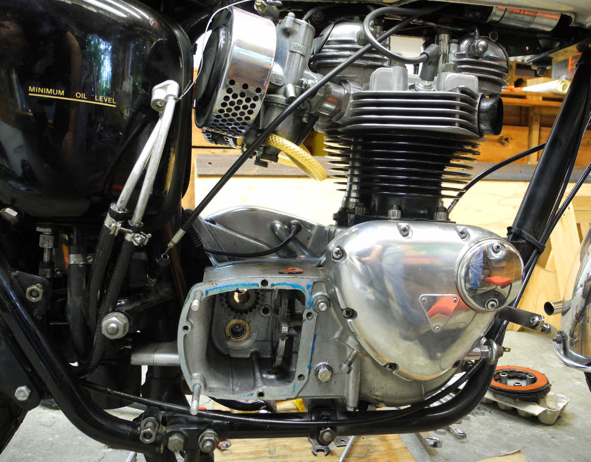Triumph 650 T120r Gearbox Reference Photos Gear Box Of Motorcycle
